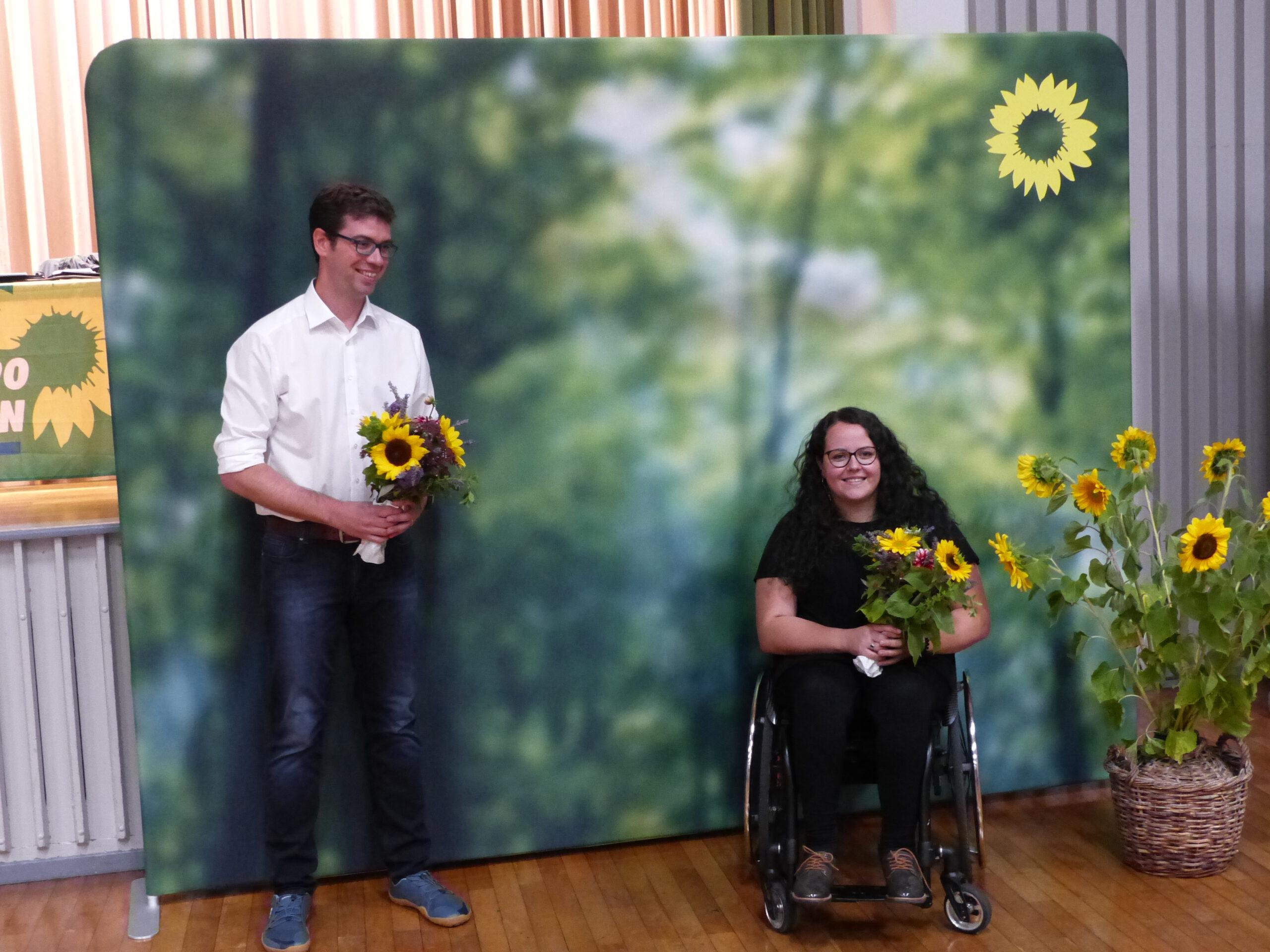 Ralf Nentwich als Kandidat und Juliana Eusebi als Ersatzkandidatin für die Landtagswahl im März 2021 nominiert
