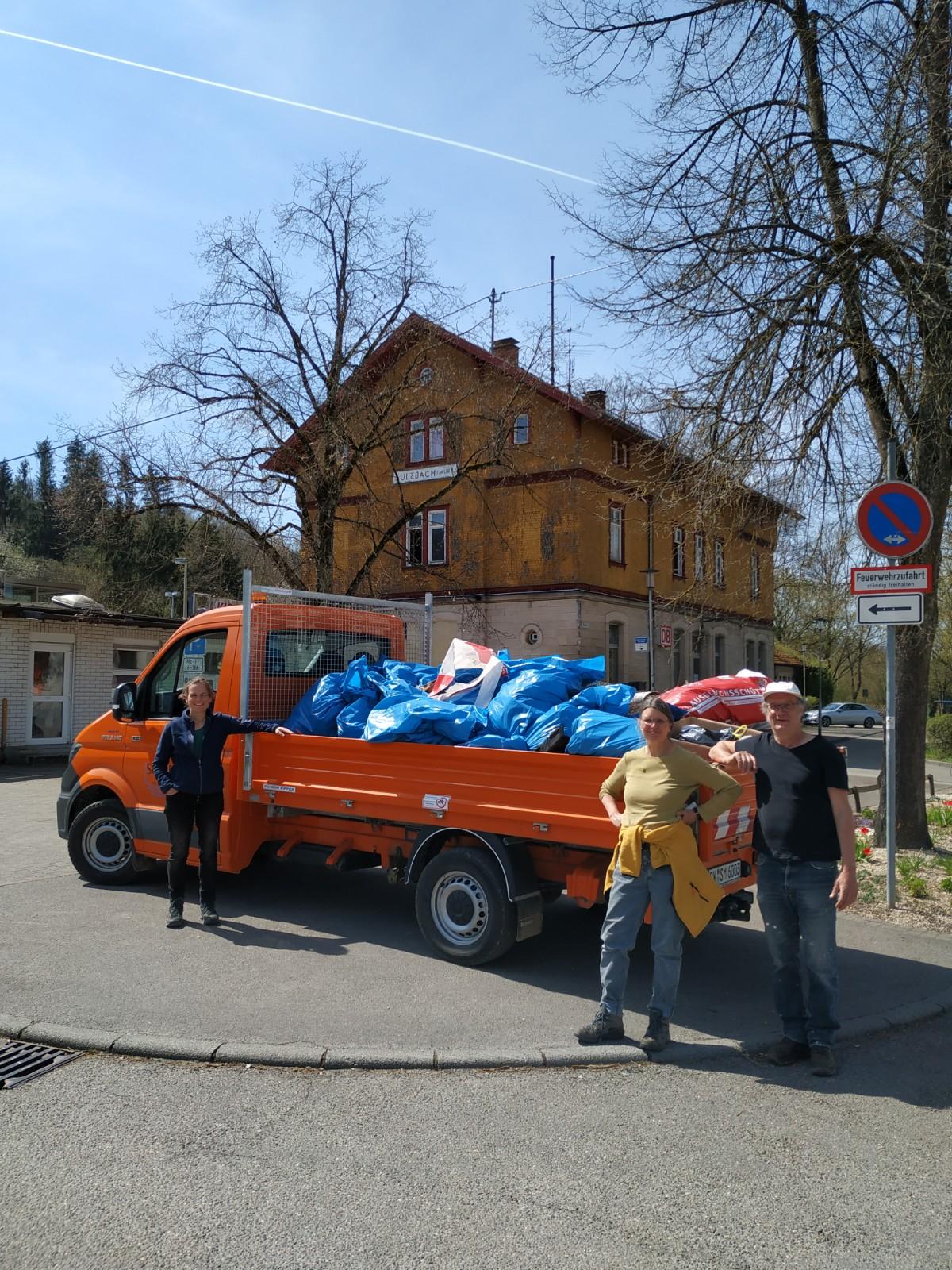 Flurputzede in Sulzbach an der Murr ein voller Erfolg